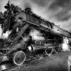 Grand Old SP&S 700 by Gary Piazza - Transportation Trains ( locomotive, trains,  )