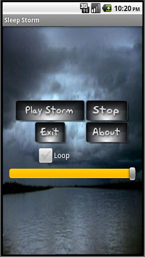 Sleep Storm for Tablets