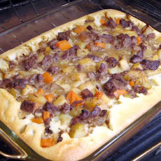 Yorkshire Strata (For Leftover Pot Roast)