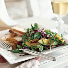 Watercress, Orange, and Avocado Salad