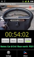 Screenshot of Pocket Parking Meter free