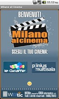 Screenshot of Webtic Milano al Cinema