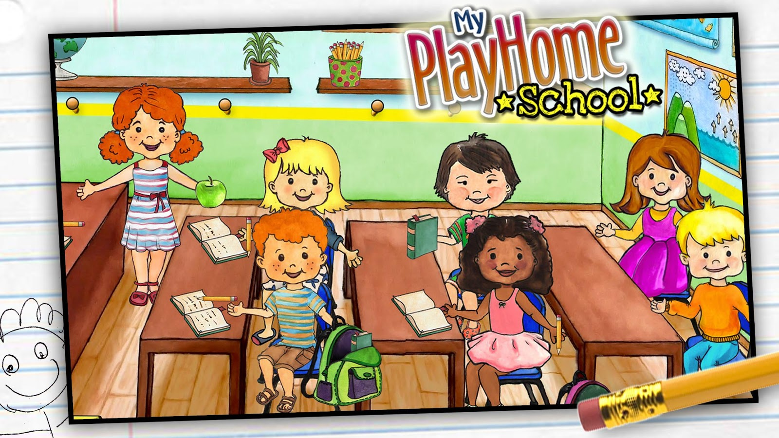My PlayHome School Screenshot 1