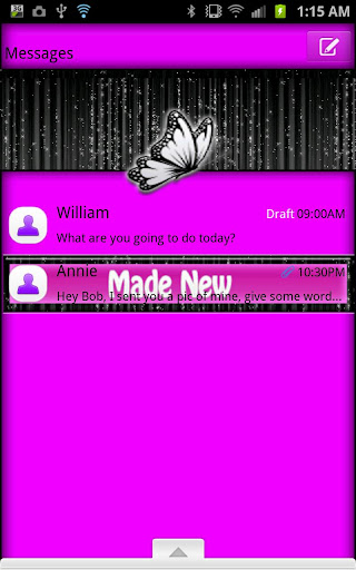 GO SMS - Made New