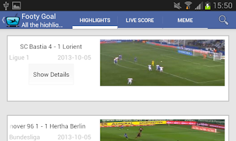 Screenshot of Football Highlights World Cup