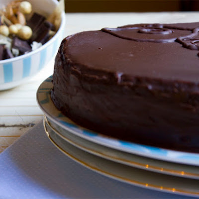 Sachertorte (German Chocolate Cake)
