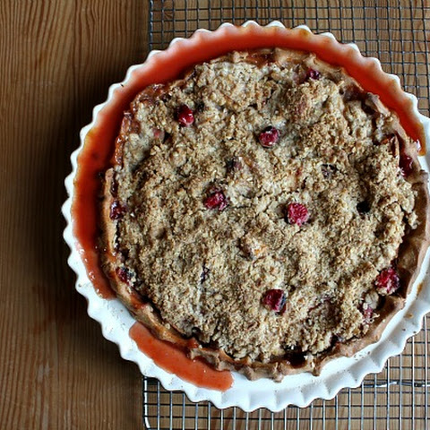 Apple- Cranberry Crumb Pie with Whole Wheat Crust