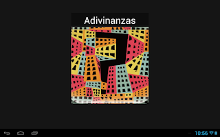 Screenshot of Adivinanzas