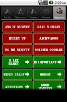 Screenshot of R. Lee Ermey's Official Sound