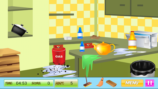 Cleaning Rooms - screenshot