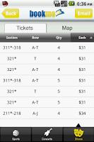 Screenshot of Sports Concert & Show Tickets