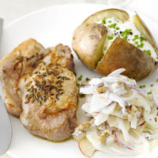 Fragrant Pork With Fennel Slaw