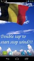 Screenshot of 3D Belgium Flag Live Wallpaper