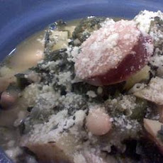 Collard-Kielbasa Soup