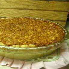 Irish Cream Macadamia Nut Pie
