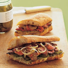 Marinated Flank Steak Sandwiches