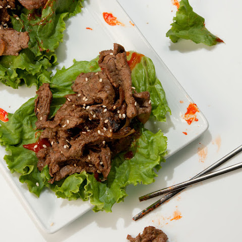 Bulgogi Recipe - Korean Barbecue Beef 불고기 Recept | Yummly