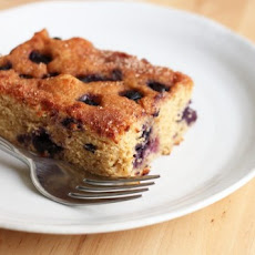 Maple-Blueberry Cake