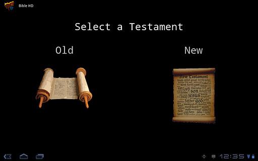錠のための聖書HD
