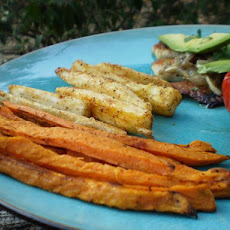 Sweet Potato and Yuca Oven Fries