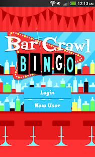 Bar Crawl Bingo - screenshot