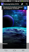 Screenshot of Galaxy S5 Wallpaper