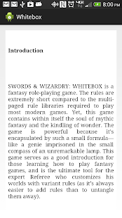 Swords and Wizardry White Box - screenshot
