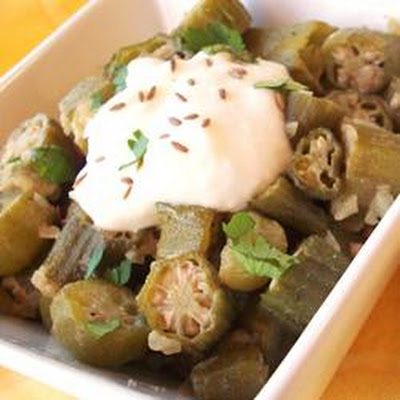 Easy Indian-Style Okra