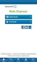 Screenshot of Genworth Mortgage Insurance