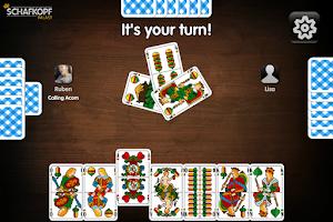 Screenshot of Schafkopf