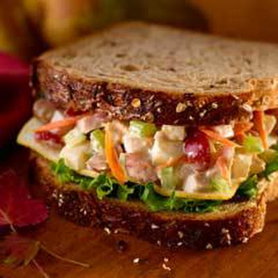 Turkey 'n Pear Salad Sandwiches
