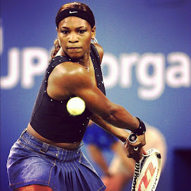 Serena👊👊 by Spencer Burnett - Sports & Fitness Tennis