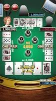Screenshot of ポーカー[本格カジノゲーム]
