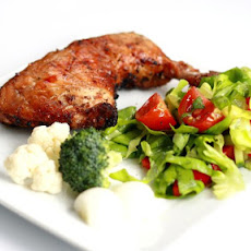 Easy Salad and BBQ Chicken - It's What's for Dinner