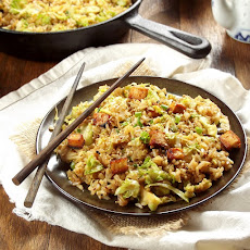 Brussels Sprout Fried Rice With Crispy Cauliflower Recipes ...