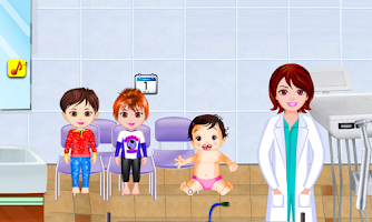 Screenshot of Baby Dentist