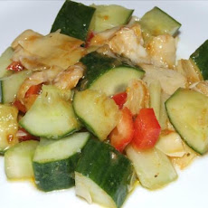 Cucumber and Celery Salad