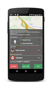 Speed camera radar (PRO)- screenshot thumbnail