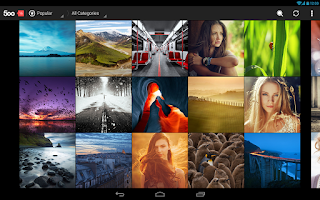 Screenshot of 500px – Discover best photos