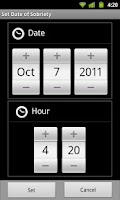 Screenshot of iSponsor For Alcoholics