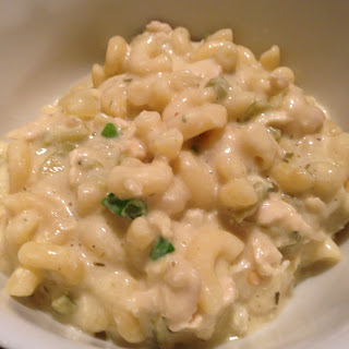 Green Chili Chicken Macaroni and Cheese