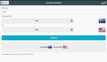 Screenshot of bcu Connect