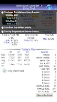 Screenshot of Dartslive Rating Check