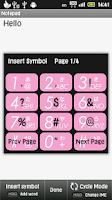 Screenshot of Traditional T9 Keypad IME