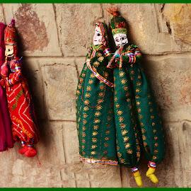 Royal Family 2 by Prasanta Das - Artistic Objects Toys ( rajasthan, toys, soft )