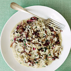 Gorgonzola and Radicchio Risotto