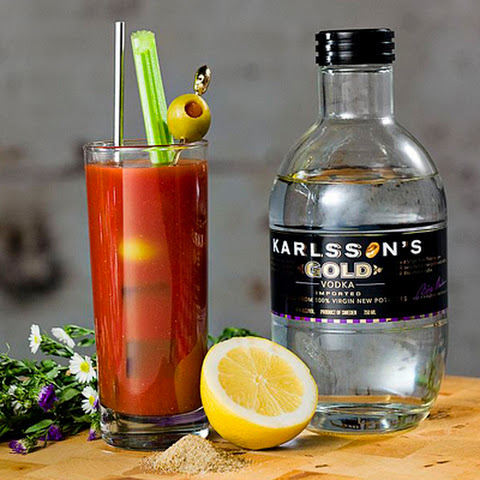 Horseradish Vodka Bloody Mary Recipe — Dishmaps