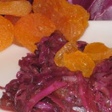 Red Cabbage With Apricots And Balsamic Vinegar