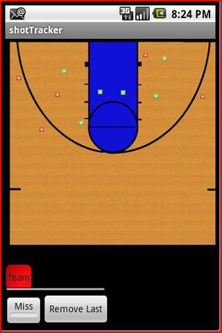 Basketball Stats Shot Tracker