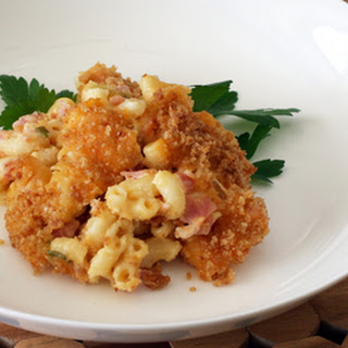 Baked Macaroni And Cheese With Ham Recipes